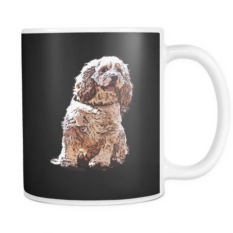 American Cocker Spaniel Dog Mugs & Coffee Cups - American Cocker Spaniel Coffee Mugs - TeeAmazing - 1