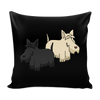 Scottish Terrier Dog Pillow Cover - Scottish Terrier Accessories - TeeAmazing - 2