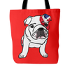 English Bulldog Dog Tote Bags - English Bulldog Bags - TeeAmazing - 4
