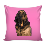 Bloodhound Dog Pillow Cover - Bloodhound Accessories - TeeAmazing - 4