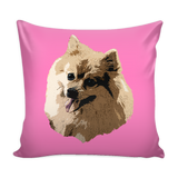 Pomeranian Dog Pillow Cover - Pomeranian Accessories - TeeAmazing