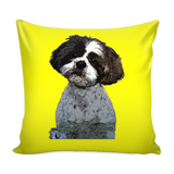 Shih Tzu Dog Pillow Cover - Shih Tzu Accessories - TeeAmazing - 3
