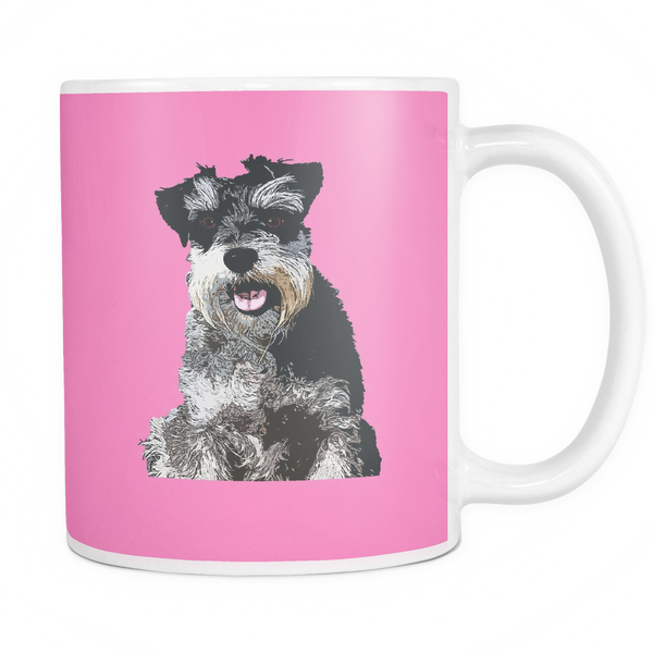 Miniature Schnauzer Dog Mugs & Coffee Cups - Miniature Schnauzer Coffee Mugs - TeeAmazing - 7