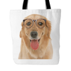 Golden Retriever Dog Tote Bags - Golden Retriever Bags - TeeAmazing - 1