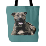 Staffordshire Bull Terrier Dog Tote Bags - Staffordshire Bull Terrier Bags - TeeAmazing - 3
