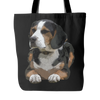 Painting Beagle Dog Tote Bags - Beagle Bags - TeeAmazing - 1