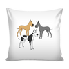 Great Dane Dog Pillow Cover - Great Dane Accessories - TeeAmazing - 1