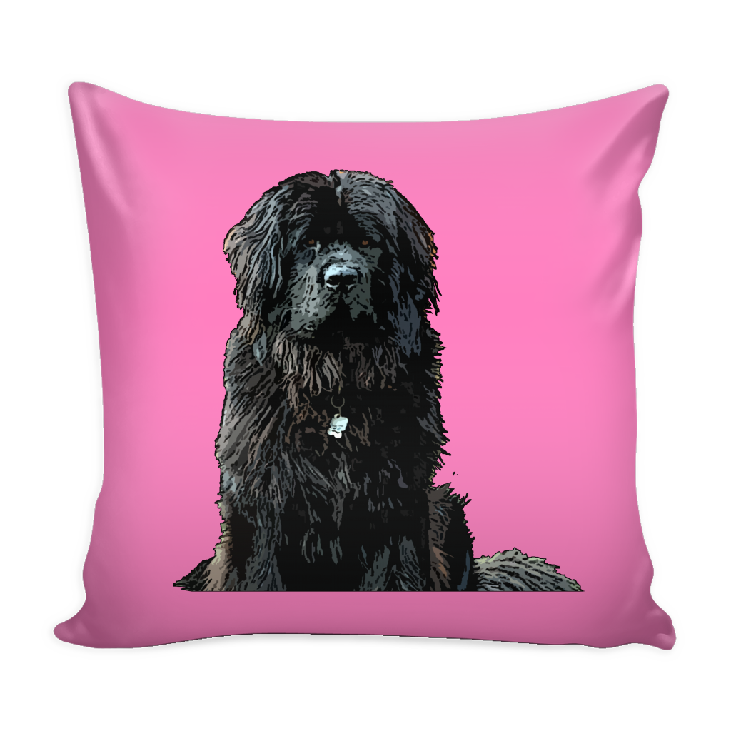 Newfoundland Dog Pillow Cover - Newfoundland Accessories - TeeAmazing - 4