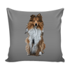 Shetland Sheepdog Dog Pillow Cover - Shetland Sheepdog Accessories - TeeAmazing - 2