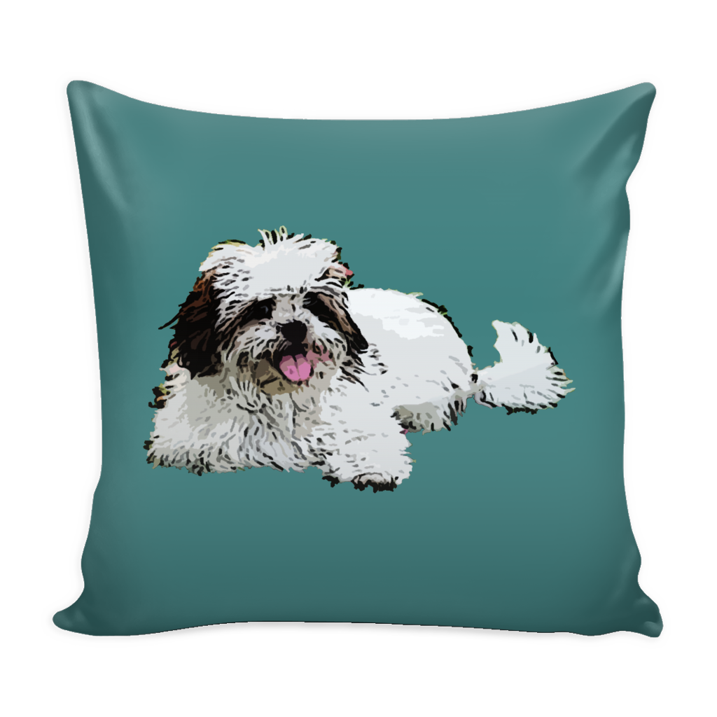 Lhasa Apso Dog Pillow Cover - Lhasa Apso Accessories - TeeAmazing