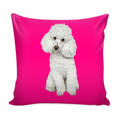 Poodle Dog Pillow Cover - Poodle Accessories - TeeAmazing - 1