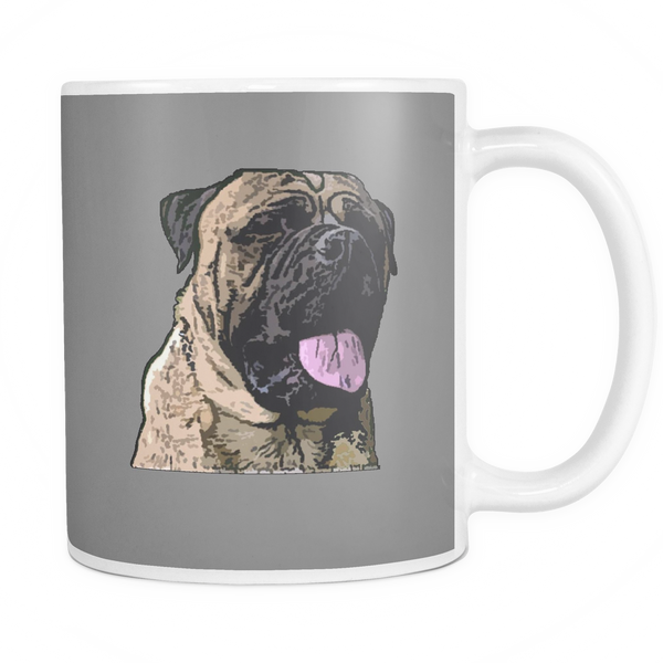 Bullmastiff Dog Mugs & Coffee Cups - Bullmastiff Coffee Mugs - TeeAmazing - 3