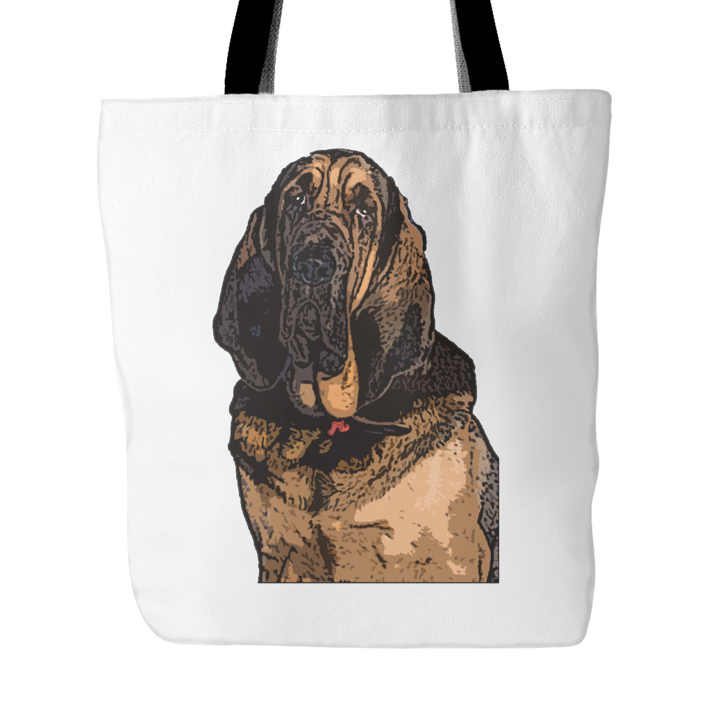 Bloodhound Dog Tote Bags - Bloodhound Bags - TeeAmazing - 1