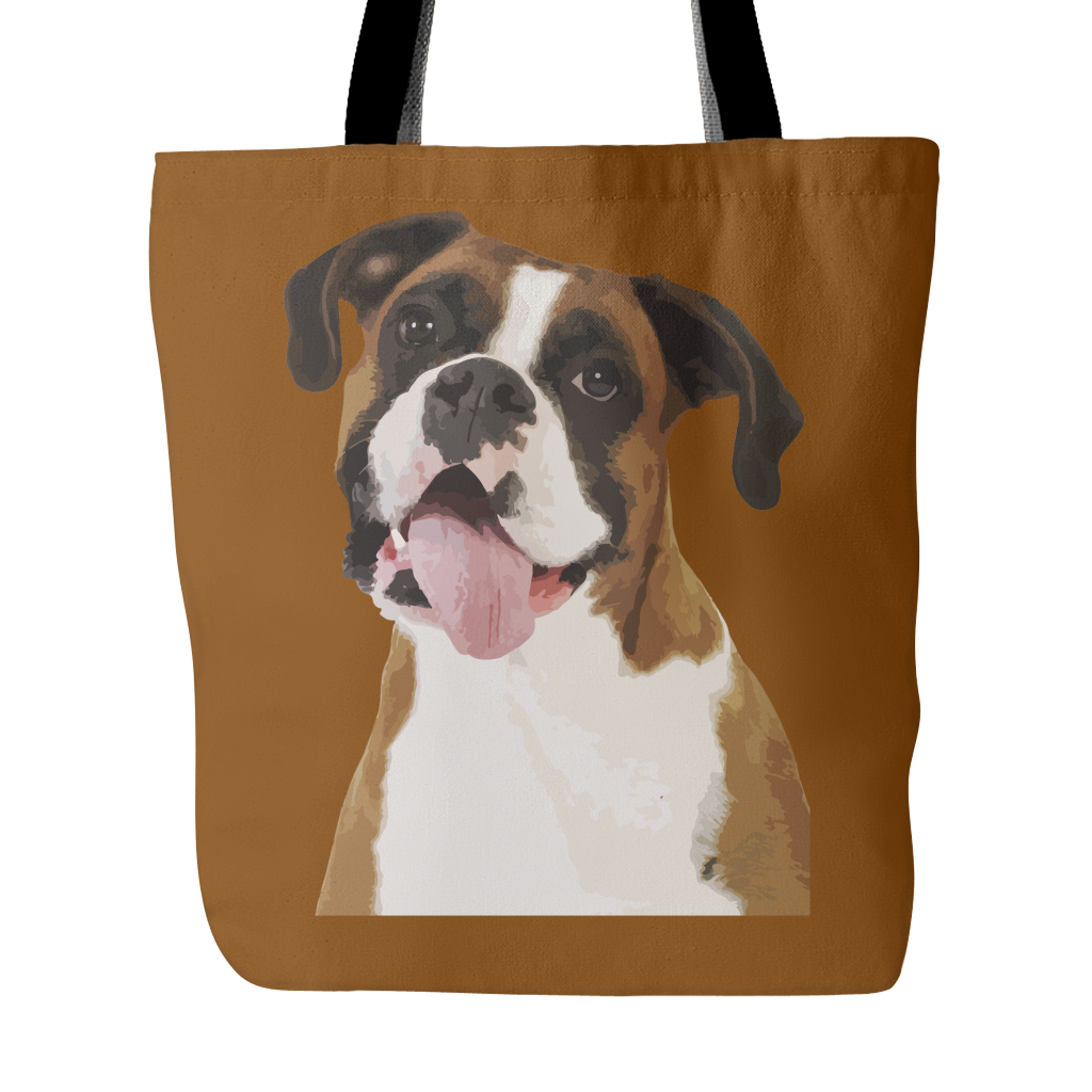 Boxer Tote Bags - Boxer Bags - TeeAmazing