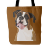 Boxer Tote Bags - Boxer Bags - TeeAmazing - 3