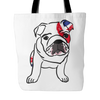 English Bulldog Dog Tote Bags - English Bulldog Bags - TeeAmazing - 2