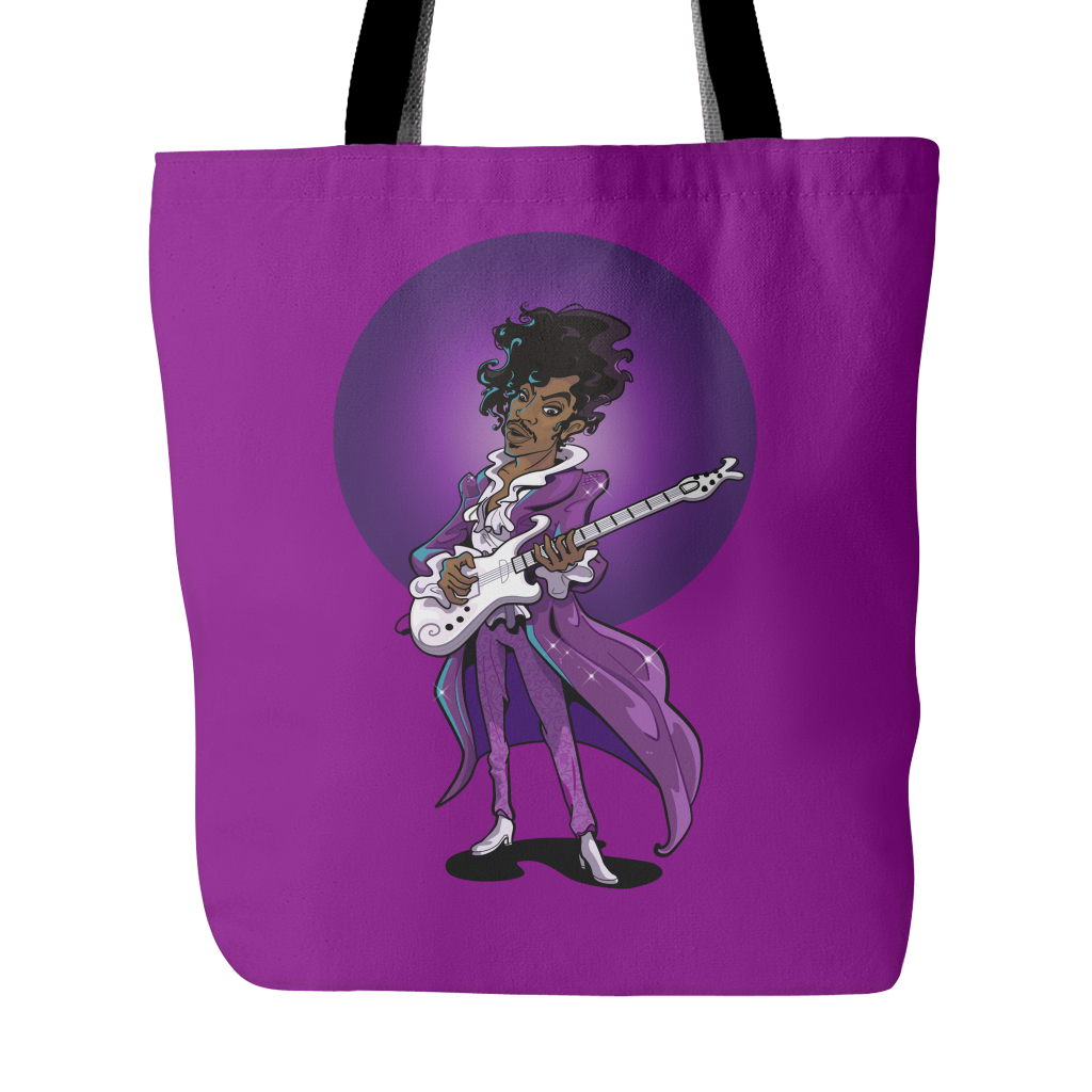 The Purple Legend Tote Bags - TeeAmazing