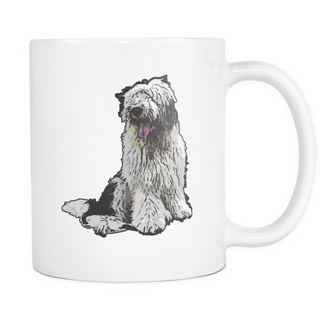 Old English Sheepdog Dog Mugs & Coffee Cups - Old English Sheepdog Coffee Mugs - TeeAmazing - 1