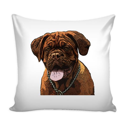 Dogues de Bordeaux Dog Pillow Cover - Dogues de Bordeaux Accessories - TeeAmazing - 1