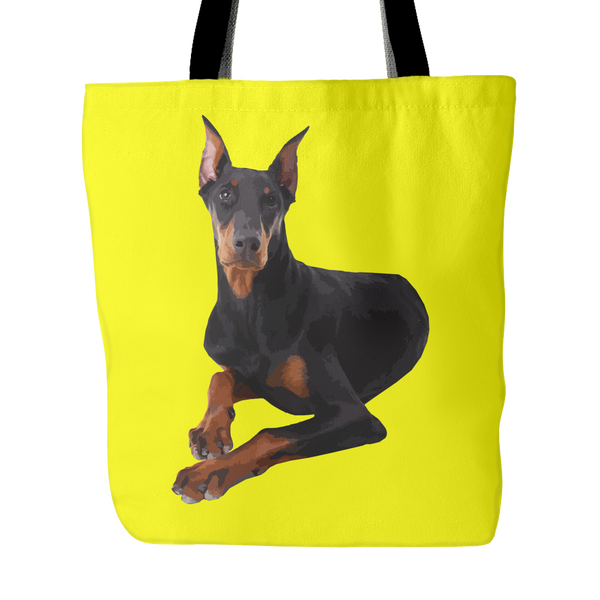 Doberman Pinscher Dog Tote Bags - Doberman Pinscher Bags - TeeAmazing - 3