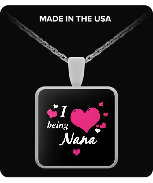 I being NANA Necklace - TeeAmazing - 3