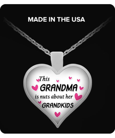 This Grandma is nuts about her grandkids Necklace - TeeAmazing