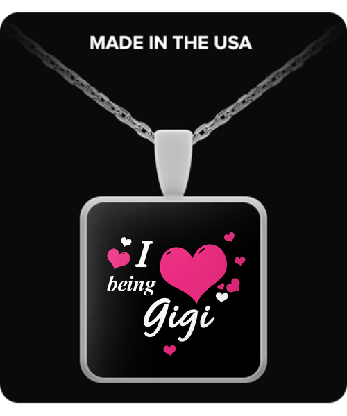 I being GIGI Necklace - TeeAmazing - 3