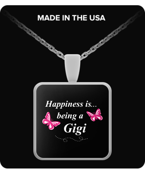 Happiness is being a GIGI Necklace - TeeAmazing