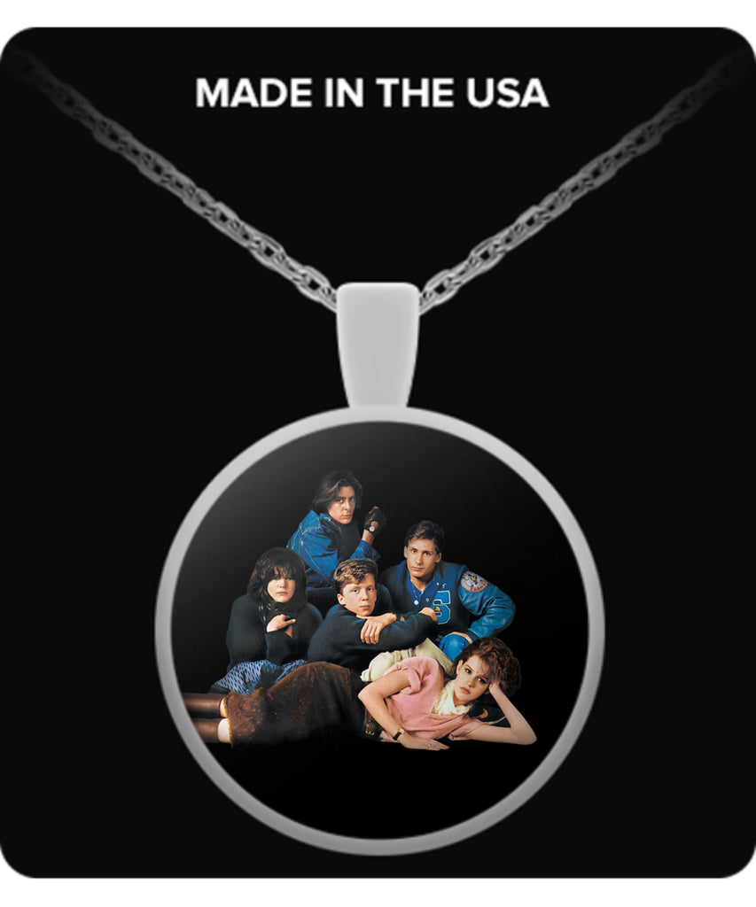 The Breakfast Club Necklaces & Pendants - The Breakfast Club Necklaces - TeeAmazing