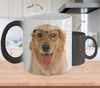 Golden Retriever Dog Color Changing Mugs & Coffee Cups - Golden Retriever Coffee Mugs - TeeAmazing - 2