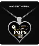 Pops Knows More Necklace - Pops Necklace - TeeAmazing