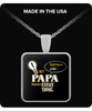 PAPA Knows More Necklace - PAPA Necklace - TeeAmazing - 2