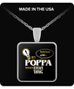 Poppa Knows More Necklace - Poppa Necklace - TeeAmazing - 2
