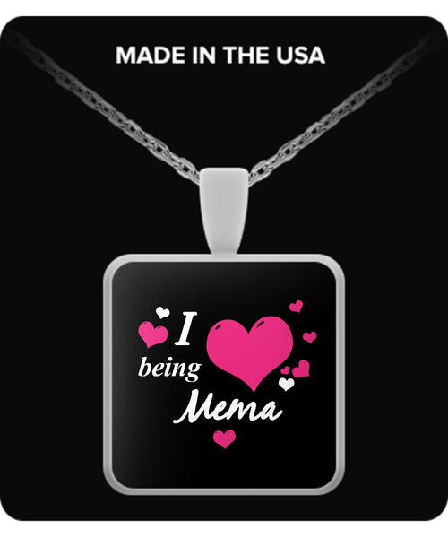 I being MEMA Necklace - TeeAmazing - 3