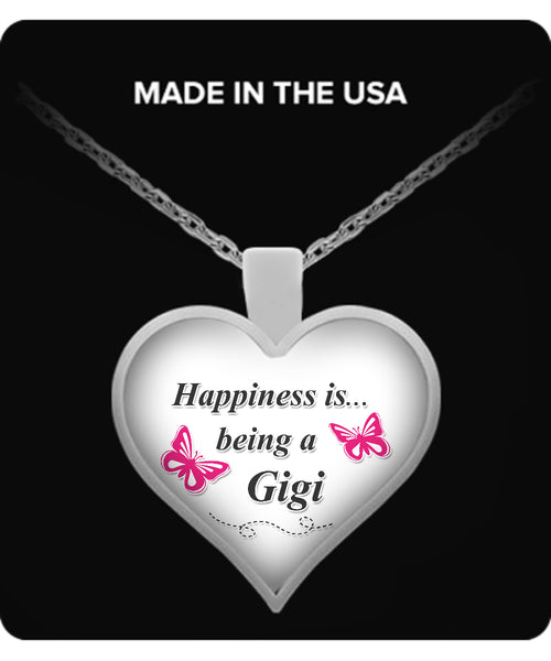 Happiness is being a GIGI Necklace - TeeAmazing - 1