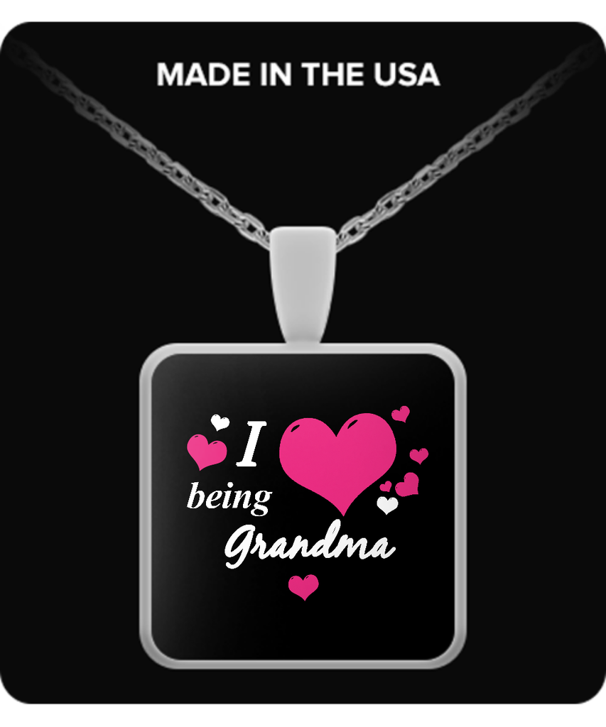 I being GRANDMA Necklace - TeeAmazing