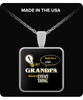 Grandpa Knows More Necklace - Grandpa Necklace - TeeAmazing - 2