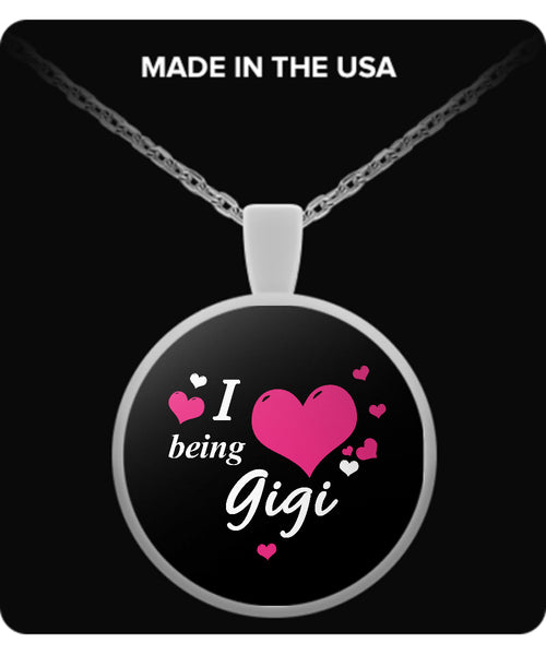 I being GIGI Necklace - TeeAmazing - 2