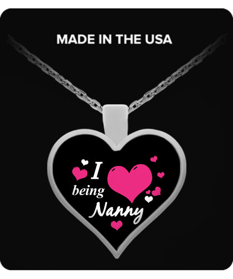 I being NANNY Necklace - TeeAmazing