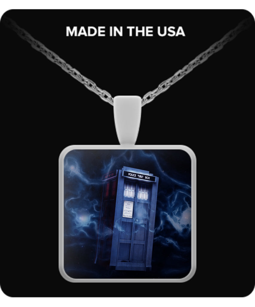 Tardis Necklaces & Pendants -  Doctor Who Necklaces - TeeAmazing