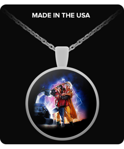 Back To The Future Necklaces & Pendants - Back To The Future Necklaces - TeeAmazing