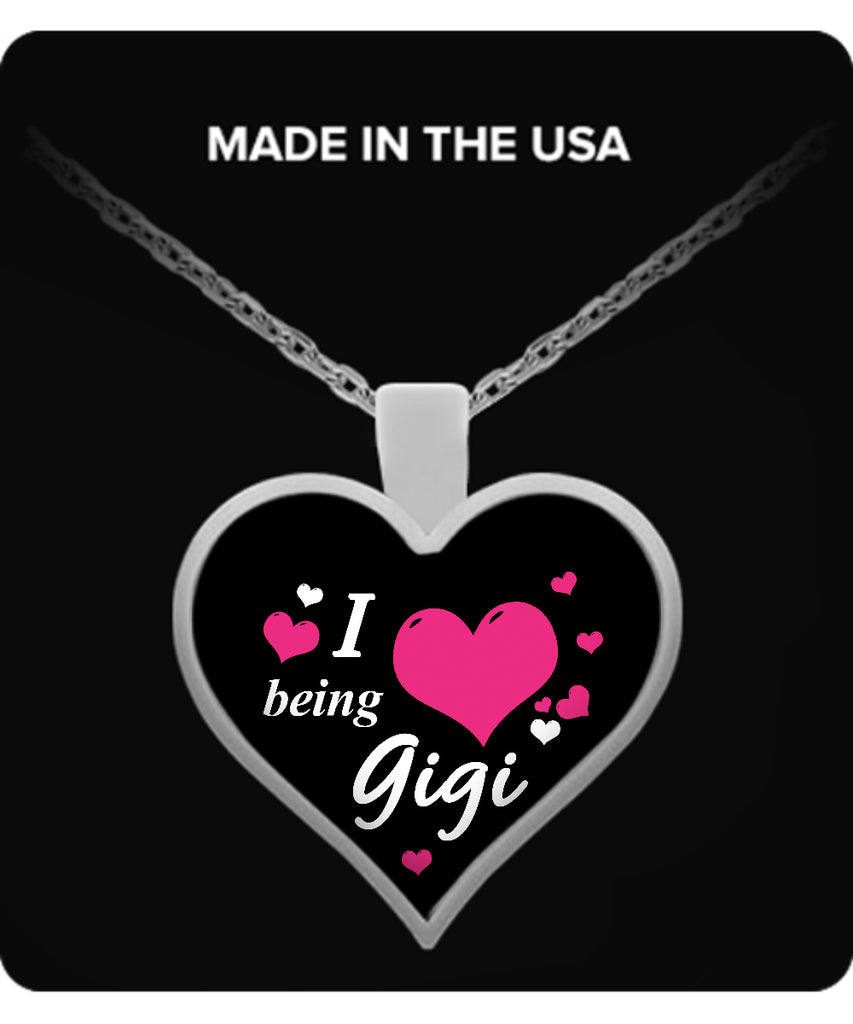 I being GIGI Necklace - TeeAmazing