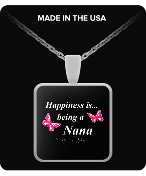 Happiness is being a NANA Necklace - TeeAmazing - 3