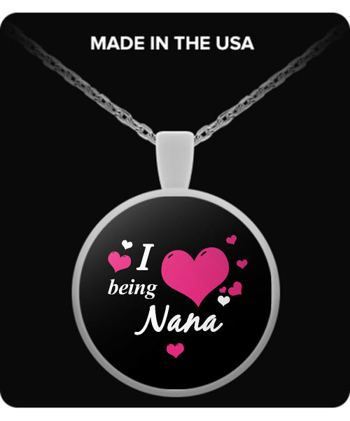 I being NANA Necklace - TeeAmazing - 2