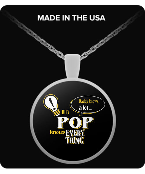POP Knows More Necklace - POP Necklace - TeeAmazing - 1