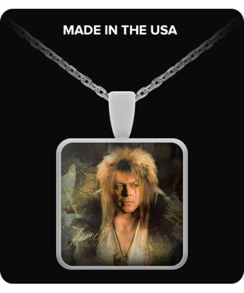 Jareth Goblin King Necklaces & Pendants - Labyrinth Necklaces - TeeAmazing