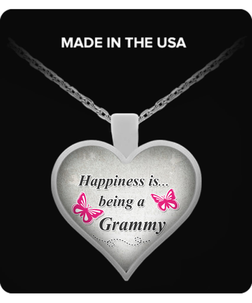 Happiness is being a GRAMMY Necklace - TeeAmazing