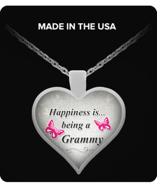 Happiness is being a GRAMMY Necklace - TeeAmazing - 1