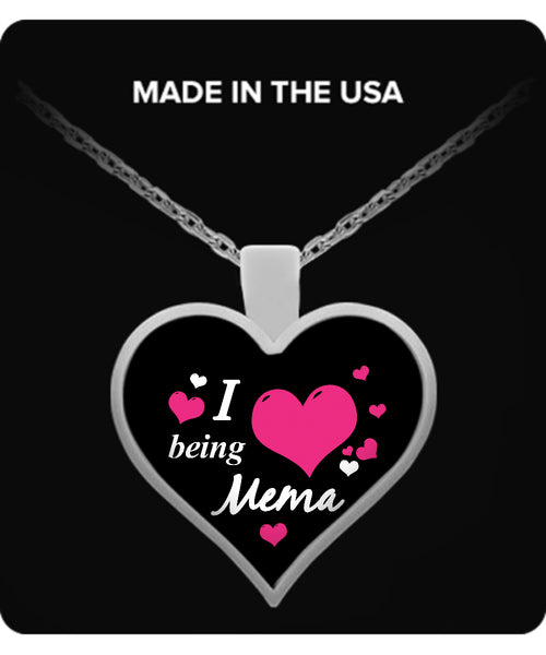 I being MEMA Necklace - TeeAmazing - 1