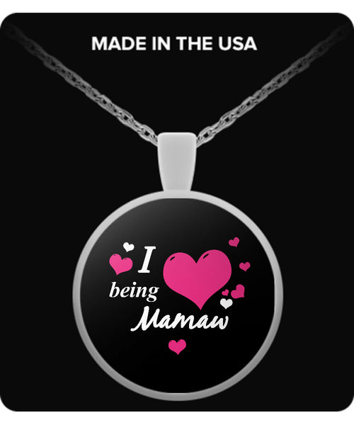 I being MAMAW Necklace - TeeAmazing - 2